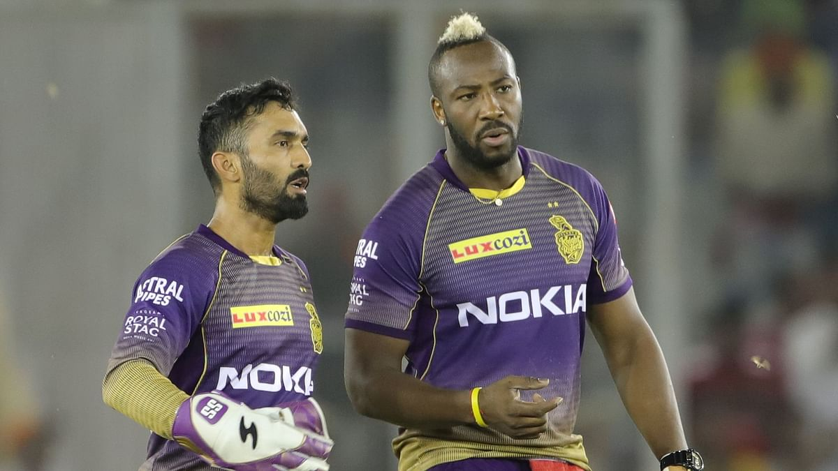 Dinesh Karthik was criticised by teammate Andre Russell