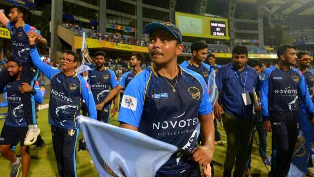 Top Run-Getter, Most Valuable: Captain Shaw Shines in T20 Mumbai