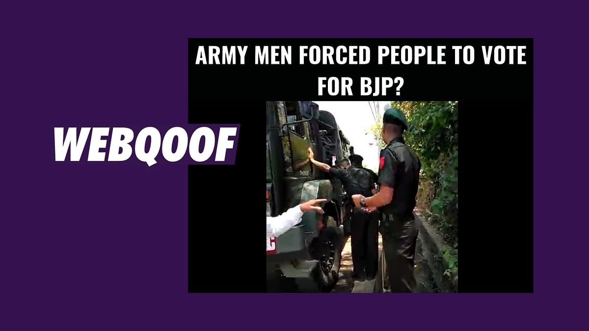 Didn't Force People to Vote for BJP: Army Denies Video's Claim