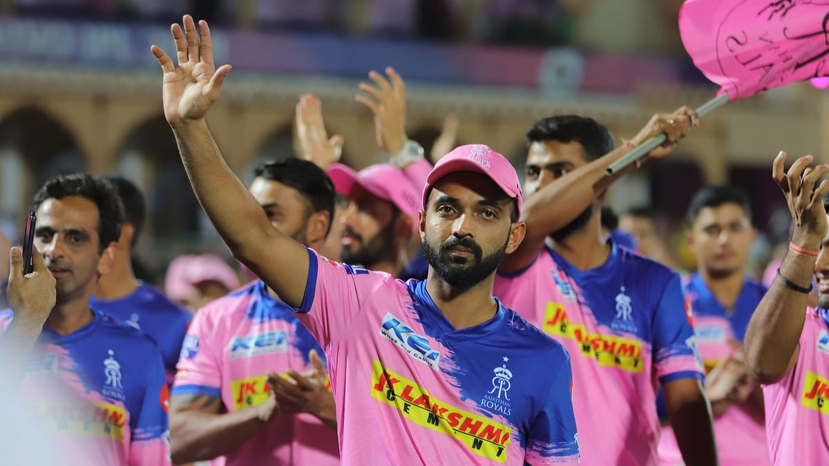 Ajinkya Rahane was appointed captain of IPL side Rajasthan Royals before the 2019 season.