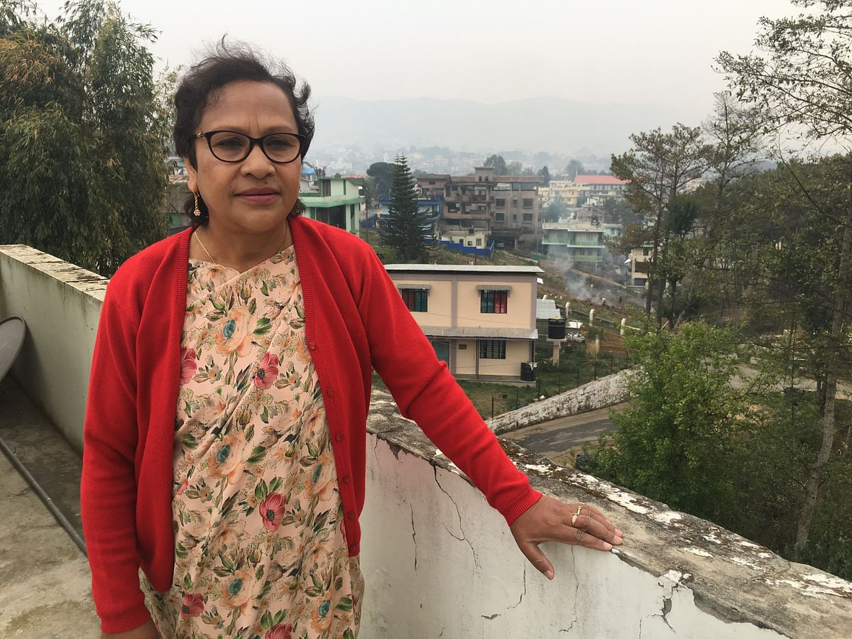 Patricia Mukhim is the editor of <i>The Shillong Times</i>.&nbsp;