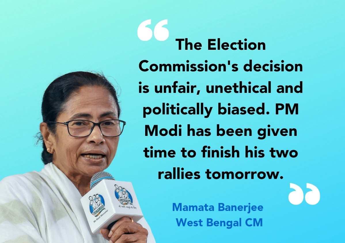 Why Allow PM's Rallies?: Mamata, Yechury Slam EC's WB Campaign Ban