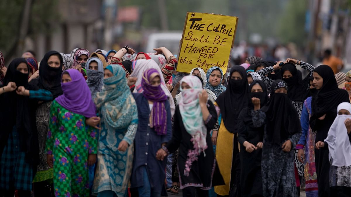 Protests followed after the alleged rape of a 3-year-old girl from north Kashmir.