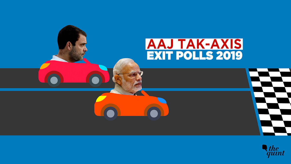 The post-poll projections come after voting for the seventh and last phase of the Lok Sabha elections ended.