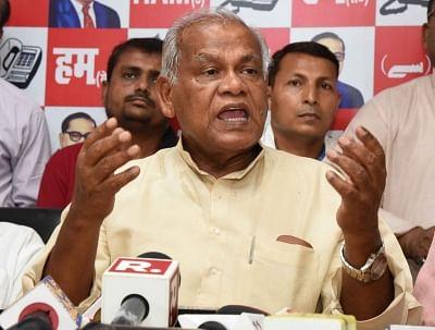 Patna: HAM-S chief Jitan Ram Manjhi