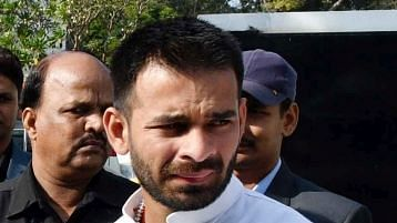 'Miss You Papa': Tej Pratap After Stopped from Speaking at Rally