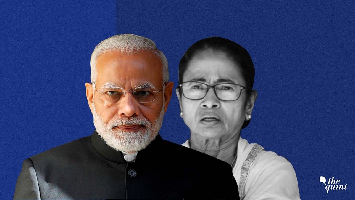 Image of Mamata and Modi used for representational purposes.