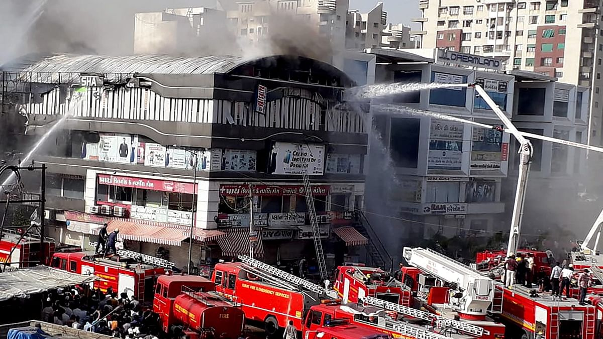 Surat Fire: Death Toll At 22, Chief Fire Officer Suspended