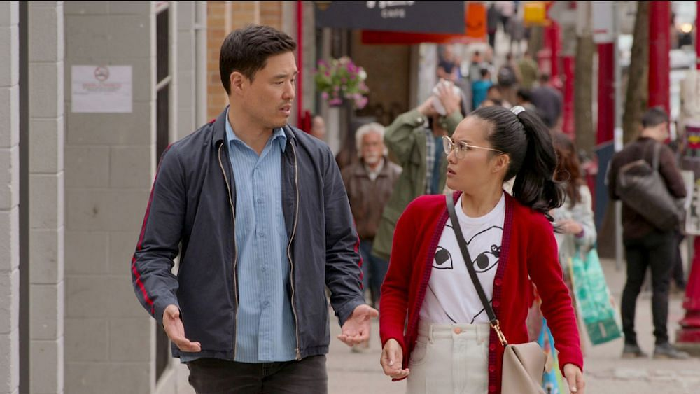 Randall Park and Ali Wong play childhood friends who reunite after 18 years in Netflix rom-com <i>Always Be My Maybe.</i>