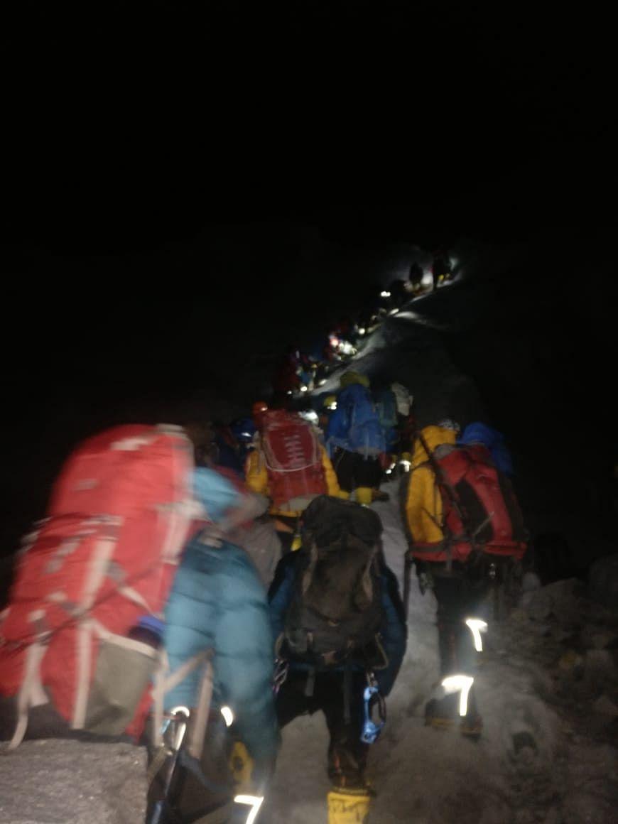 Climbers' Greed, Excess Permits: Summiteers on Everest Traffic Jam