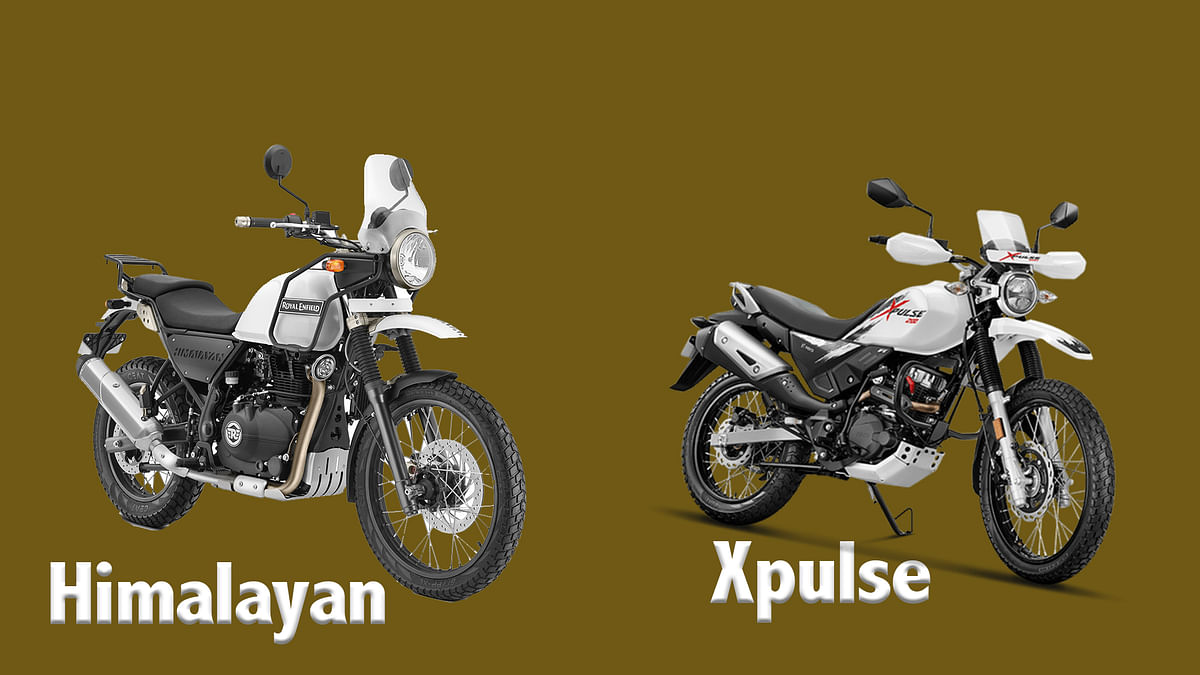 Royal Enfield Himalayan vs Hero Xpulse Comparison