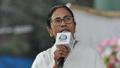 Kolkata: West Bengal Chief Minister Mamata Banerjee campaigns for Mimi Chakraborty, Trinamool Congress (TMC) candidate for Jadavpur Lok Sabha seat during a party rally in Kolkata on May 14, 2019. (Photo: Kuntal Chakrabarty/IANS)