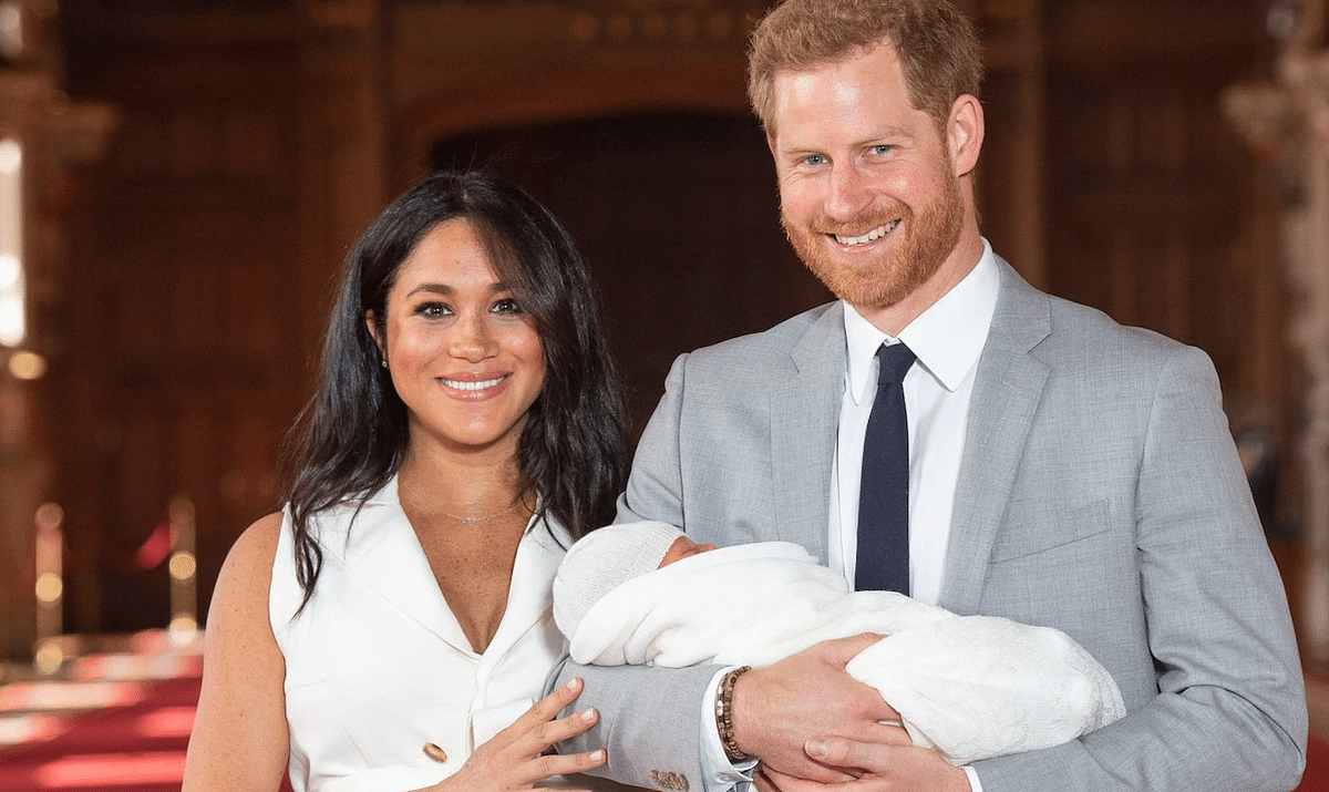 Meghan Markle and Prince Harry Share First Look Of Their Baby Boy