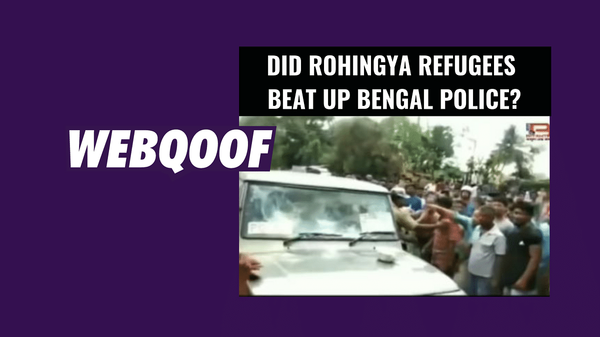 Video of Local Mob Falsely Shared as Rohingyas Attacking WB Police