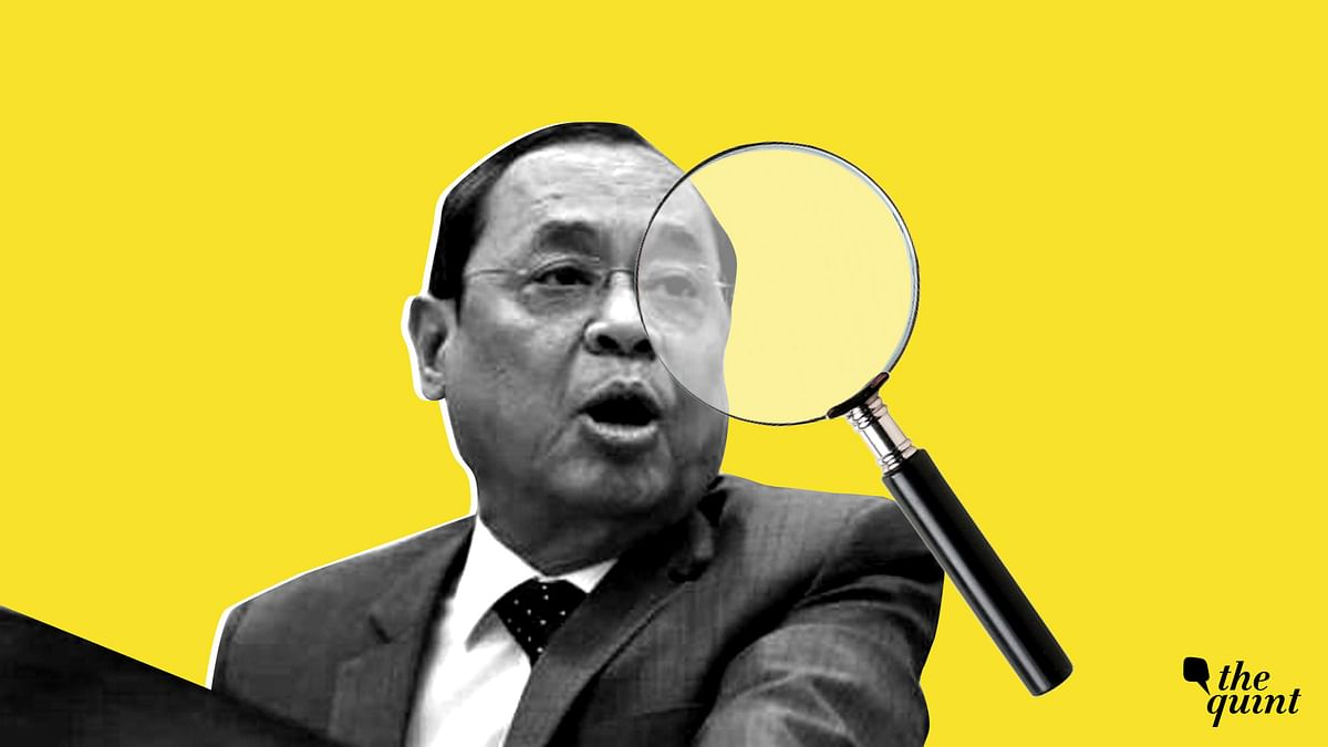 The allegations against CJI Ranjan Gogoi are being
