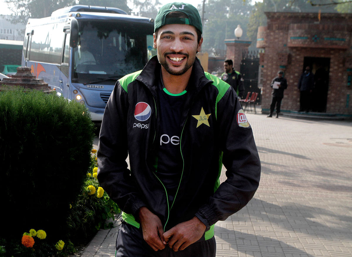Pakistan fast bowler Mohammad Amir was one of the cricketers involved in the 2010 spot-fixing saga. After serving a suspension and a prison sentence, Amir made a comeback to the Pakistan cricket team.