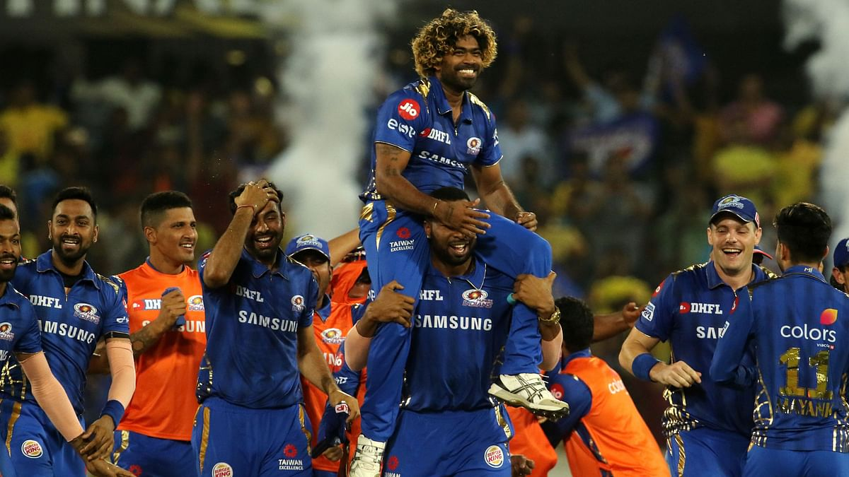 Lasith Malinga bowled an excellent final over in the match to defend 9 runs.
