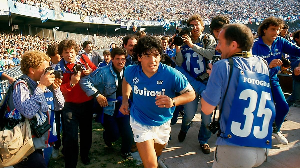 "Diego Maradona has asked the ""Hand of God"" to end this pandemic."