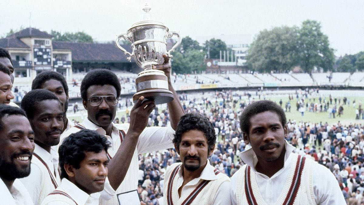 West Indies won it for the second time in 1975.
