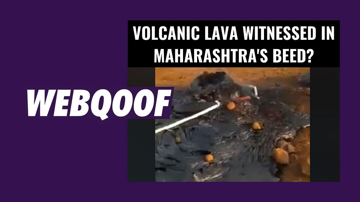 Volcanic Lava in Beed? No, It's Melted Rocks in Viral Video