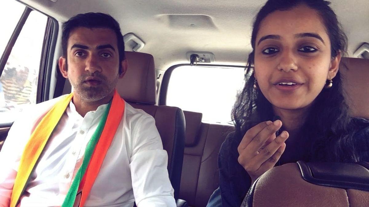 BJP's Gautam Gambhir On Why He Challenged Kejriwal & Not Atishi