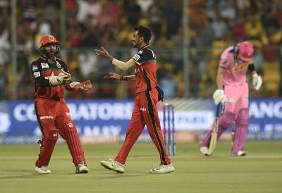 Shreyas Gopal's hat-trick restrict RCB at 62/7