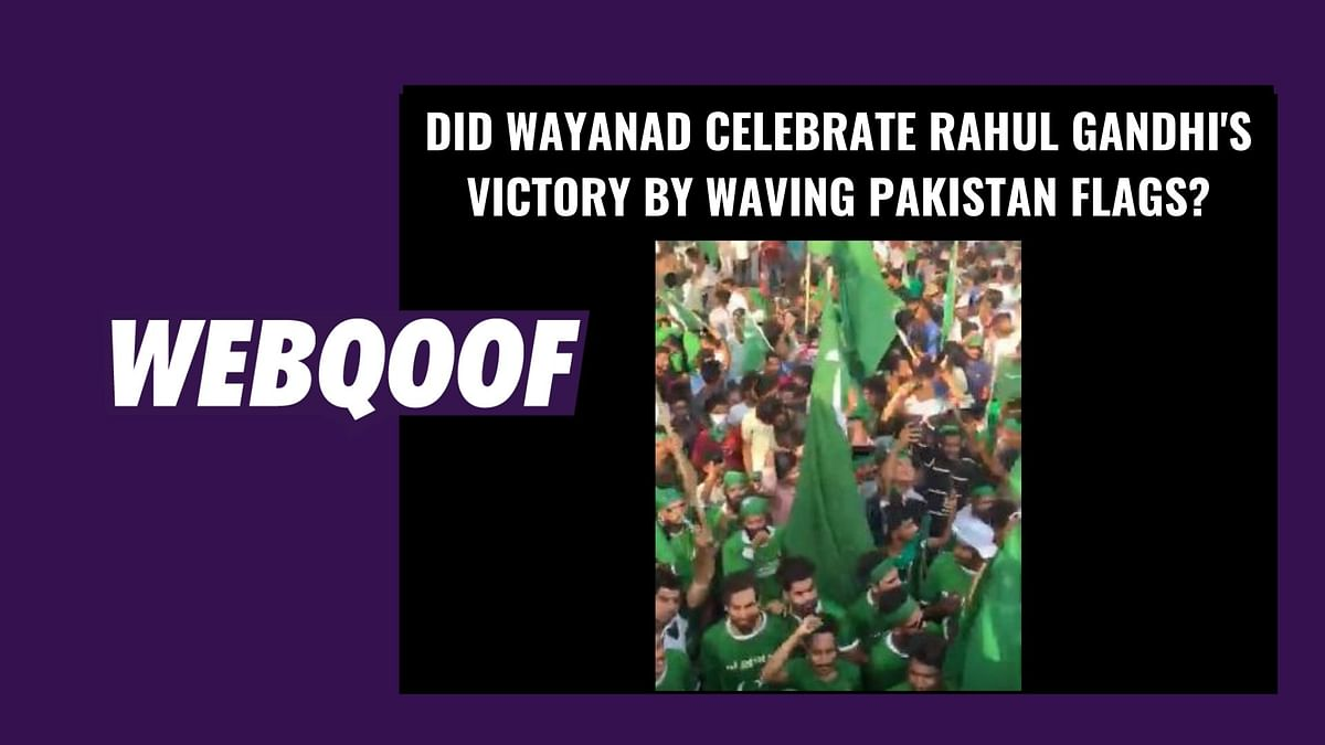 Did Wayanad Celebrate Rahul Gandhi's Win With Pakistani Flags?