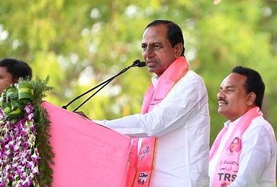 Kalvakuntla Chandrashekhar Rao. (File Photo: IANS)