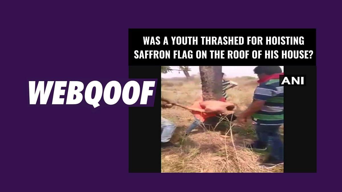 Boy in Viral Video from UP Not Thrashed for Hoisting Saffron Flag