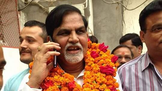 BJP MLA Ashok Singh Chandel.