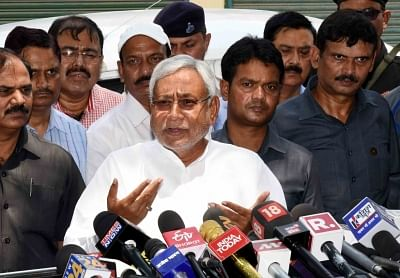 Nitish Kumar tries to swing the balance in his favour