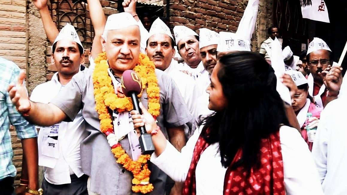 Why Did Manish Sisodia Tweet On Atishi's Caste? Here's His Answer