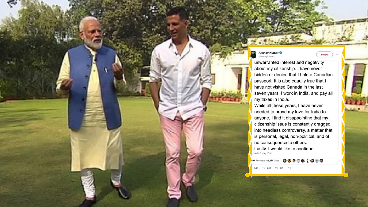 Indian or Foreigner? Akshay Kumar Sparks a Twitter Debate