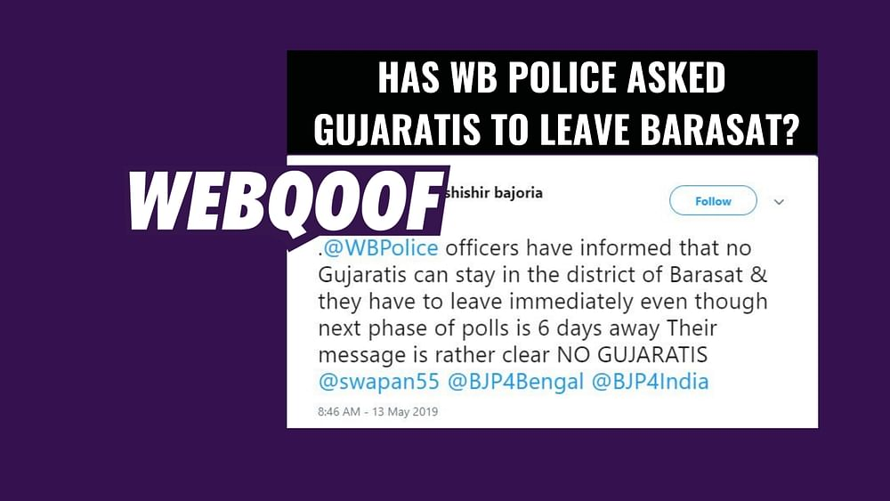 Gujaratis' Viral Message Fact Check: Have Gujaratis in West Bengal's  barasat District Been Asked to Leave Immediately?