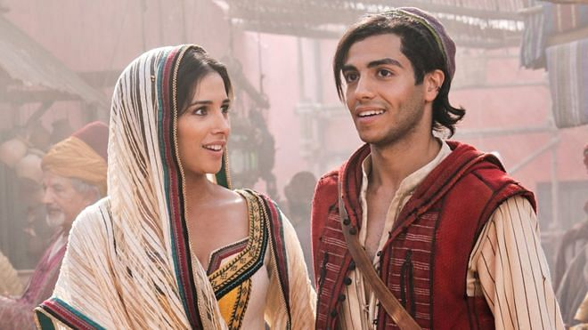Mena Massoud aka Aladdin's chemistry with Naomi Scott's Princess Jasmine doesn't take us to a whole new world.