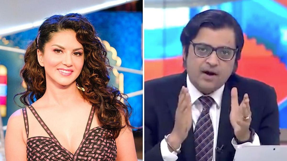 Sunny Leone Leading in Gurdaspur?! Arnab's Goof-Up Goes Viral