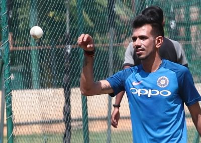 Yuzvendra Chahal. (Photo: IANS)