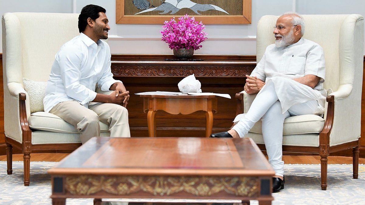 After Landslide Win in AP, YSRC Chief Reddy Meets PM Modi in Delhi