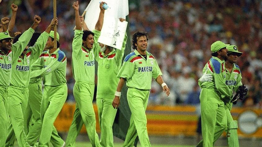 Pakistan won their only World Cup title under Imran Khan in 1992.