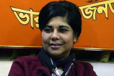 Heckled BJP candidate Bharati Ghosh keeps forces busy in Bengal