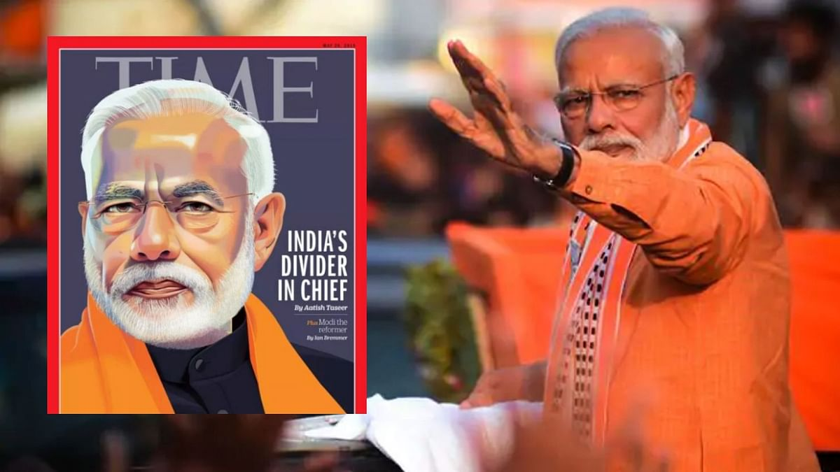 PM Modi Responds To TIME Cover, Questions Author's Credibility