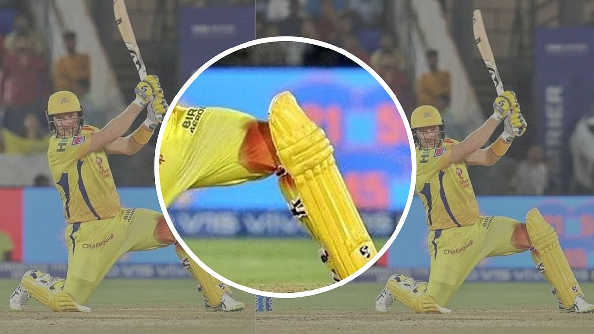 Watson Injured His Knee in IPL Final but Told No one & Played On