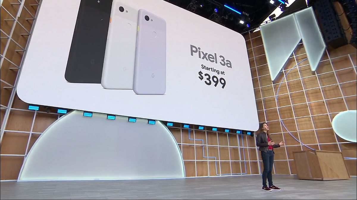 Pixel 3a series unveiled at the Google I/O 2019.