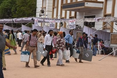 Polling underway for Telangana local body elections