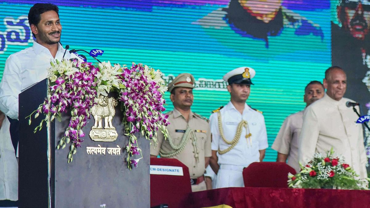 Modi, Rahul Congratulate Jagan Mohan Reddy on Becoming Andhra CM