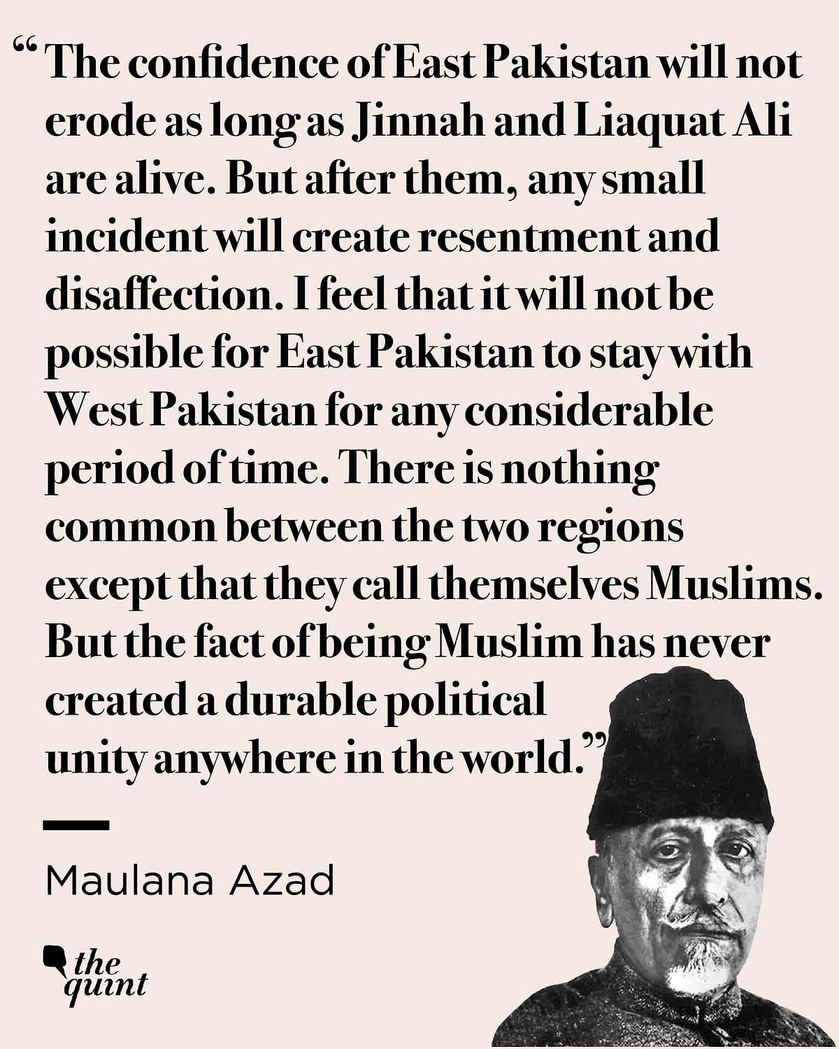 Maulana Azad, the 'Default' Political Visionary of Elections 2019