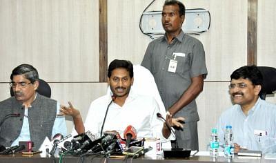 Amaravati lands a major scam, says Jagan