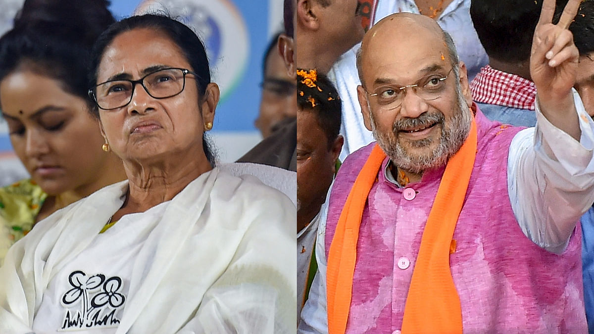 War Of Words As Shah, Mamata Hold Competing Rallies In Bengal