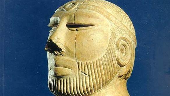 The Priest King of Mohenjo Daro