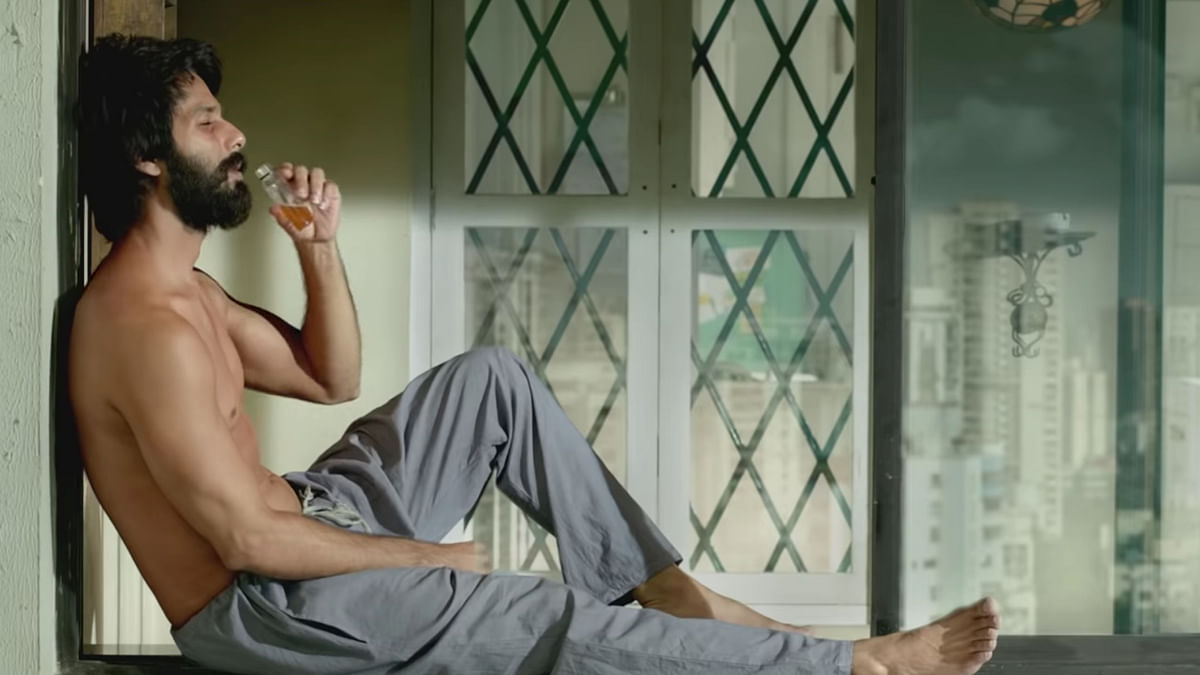 Shahid Kapoor in a still from the trailer for <i>Kabir Singh</i>.